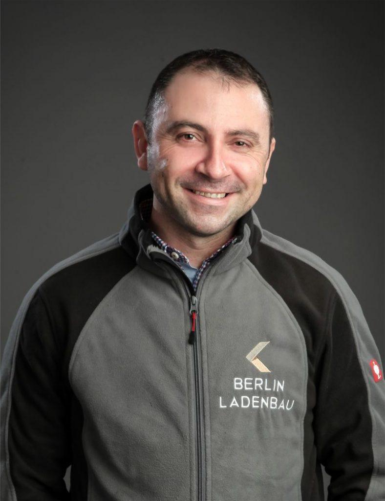 Birhan - Teamleiter bei Ladenbau-Berlin