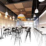 3D Visualisierung Ladenbau Berlin Planung Skizze Gastronomie