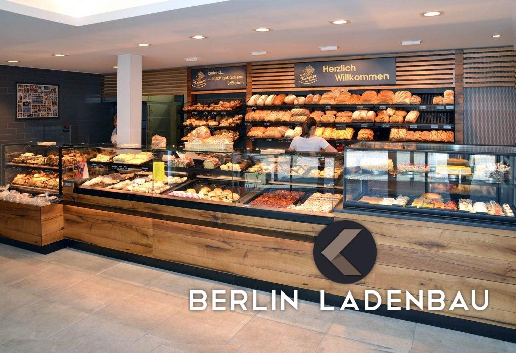 Backshop Baeckerei Cafe Berlin Aussbau Ladenbau