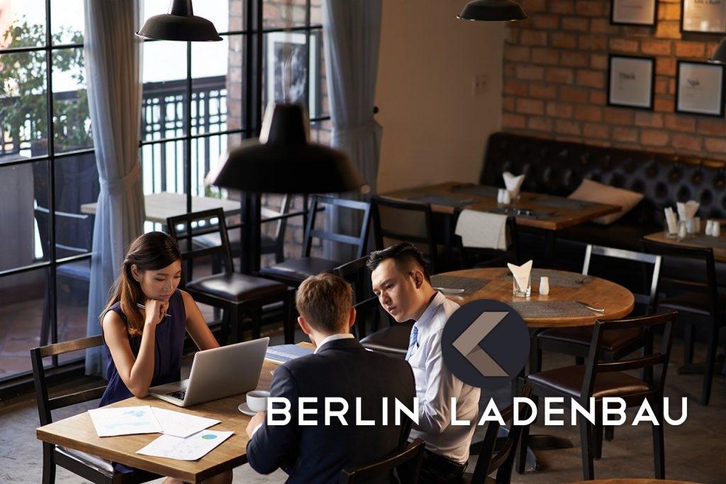 Ladenbau Planung Innenausbau Restaurant cafe Berlin